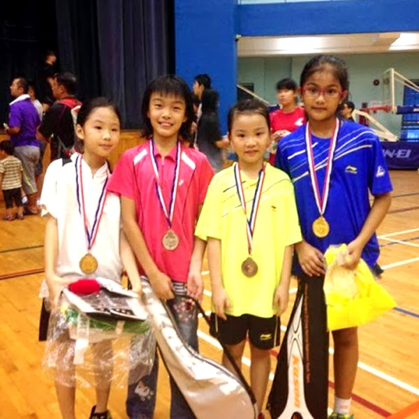 singapore badminton school